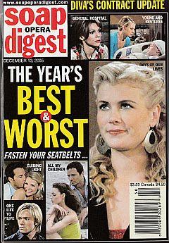 Soap Opera Digest Dec. 13, 2005