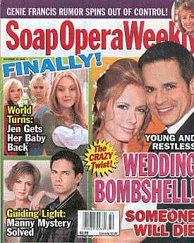 Soap Opera Weekly December 13, 2005