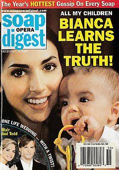 Soap Opera Digest Dec. 14, 2004