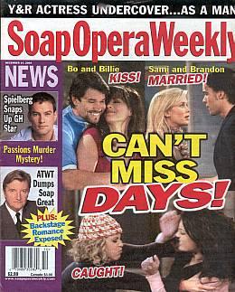 Soap Opera Weekly December 14, 2004