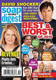 Soap Opera Digest December 14, 2010