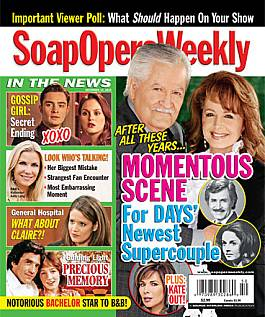 December 14, 2010 issue of Soap Opera Weekly magazine