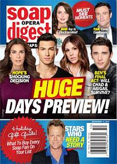 December 14, 2015 issue of Soap 