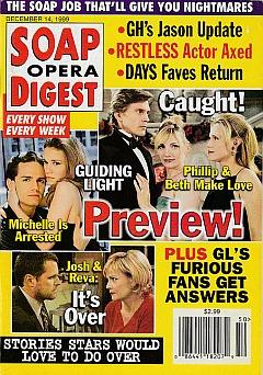 Soap Opera Digest - December 14, 1999