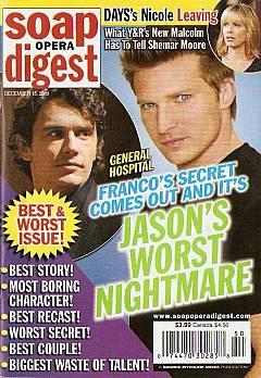 Soap Opera Digest December 15, 2009