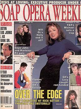 Soap Opera Weekly December 15, 1992