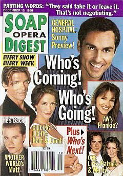 Soap Opera Digest - December 15, 1998