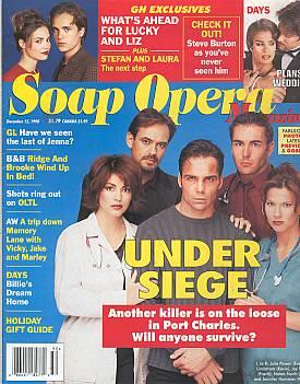 Soap Opera Magazine December 15, 1998