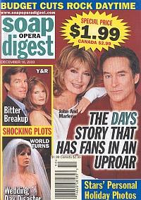 Soap Opera Digest Dec. 16, 2003