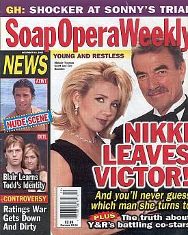 Soap Opera Weekly December 16, 2003