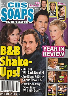 CBS Soaps In Depth December 16, 2013