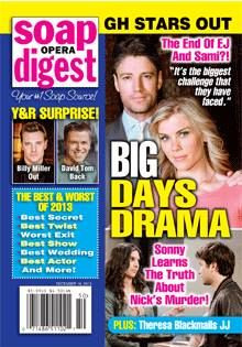 Soap Opera Digest Dec. 16, 2013