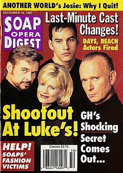 Soap Opera Digest - December 16, 1997