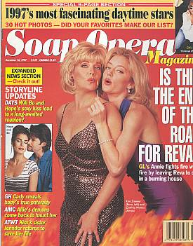 Soap Opera Magazine December 16, 1997