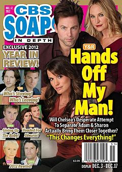 December 17, 2012 issue of CBS Soaps In Depth magazine