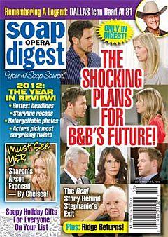 Soap Opera Digest December 17, 2012