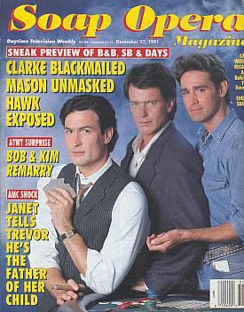 Soap Opera Magazine December 17, 1991