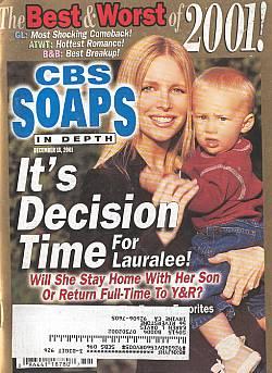CBS Soaps In Depth December 18, 2001
