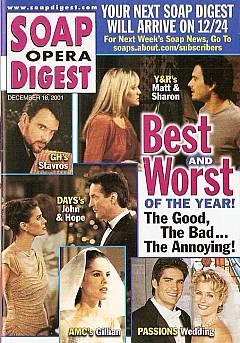 Soap Opera Digest Dec. 18, 2001