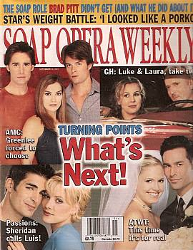 Soap Opera Weekly December 18, 2001