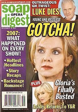 Soap Opera Digest Dec. 18, 2007