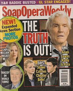 Soap Opera Weekly December 18, 2007