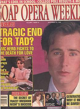 Soap Opera Weekly - December 18, 1990