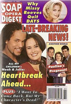 Soap Opera Digest - December 19, 1995