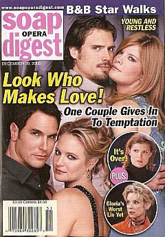Soap Opera Digest Dec. 20, 2005