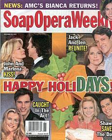 Soap Opera Weekly December 20, 2005