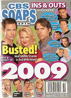 CBS Soaps In Depth December 21, 2009