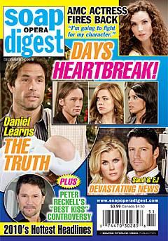 Soap Opera Digest December 21, 2010