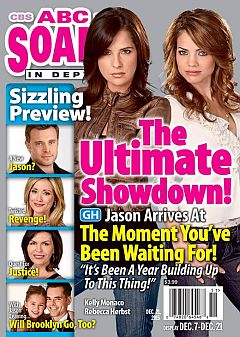 December 21, 2015 issue of ABC Soaps In Depth magazine