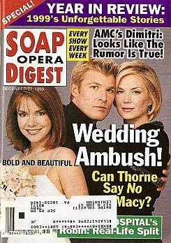 Soap Opera Digest - December 21, 1999