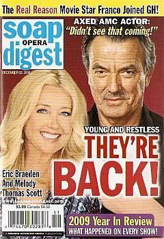 Soap Opera Digest December 22, 2009