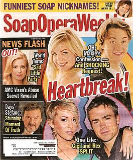 Soap Opera Weekly Dec. 22, 2009