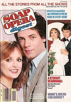 December 22, 1981 issue of Soap Opera Digest