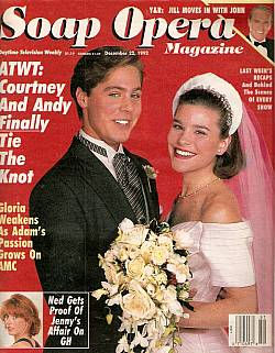Soap Opera Magazine Dec. 22, 1992