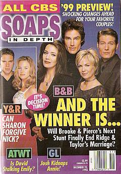 CBS Soaps In Depth - December 22, 1998