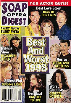 Soap Opera Digest - December 22, 1998