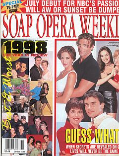 Soap Opera Weekly December 22, 1998