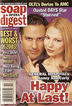 Soap Opera Digest Dec. 23, 2003