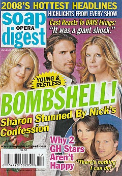 Soap Opera Digest December 23, 2008