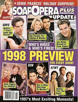 Soap Opera Update December 23, 1997