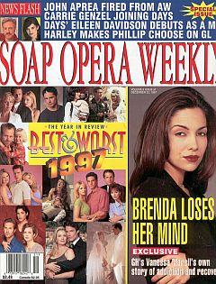 Soap Opera Weekly December 23, 1997