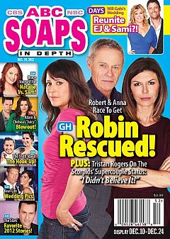 December 24, 2012 issue of ABC Soaps In Depth magazine