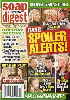 Soap Opera Digest December 24, 2012