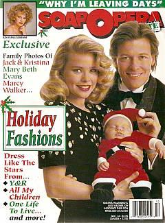 Soap Opera Update December 24, 1990