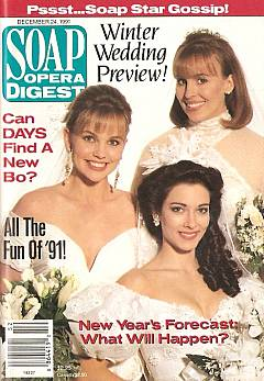 Soap Opera Digest December 24,1991