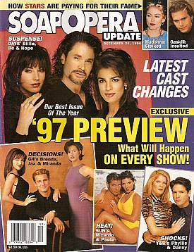 Soap Opera Update December 24, 1996